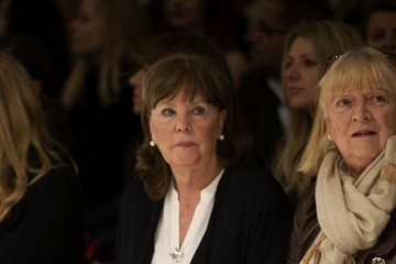 Pauline Collins London Fashion Week Around Somerset House