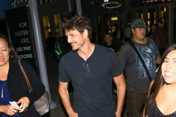 Pedro Pascal Pedro Pascal Outside ArcLight Theatre In Hollywood