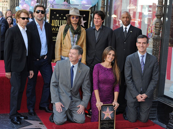 Penelope Cruz honored with star on the Hollywood Walk of Fame. Hollywood, CA.April 1, 2011.
