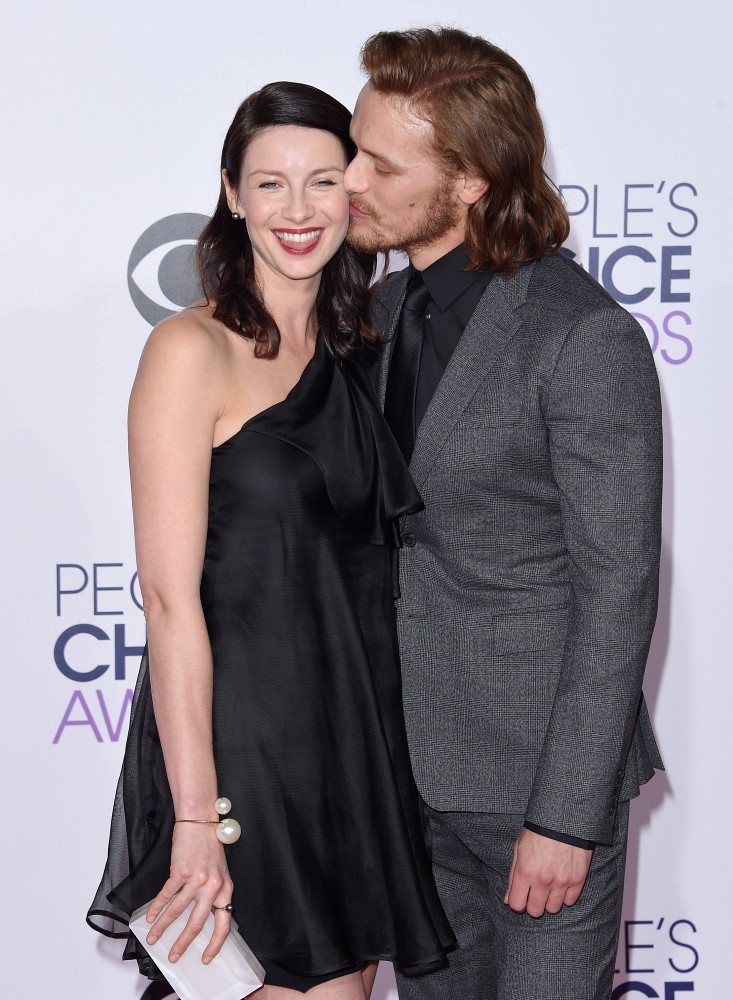 heughan and balfe relationship advice