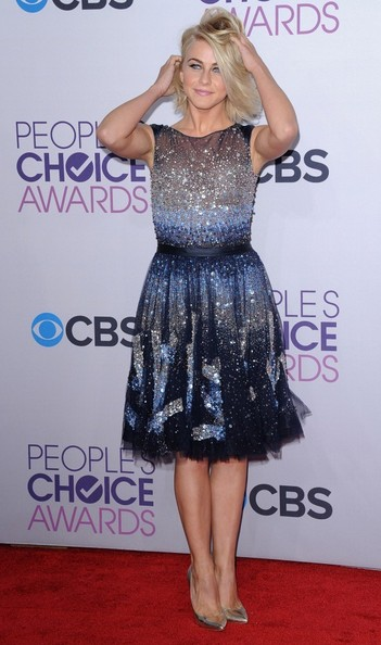 People's Choice Awards 2013..Nokia Theatre L.A. Live, Los Angeles, CA..January 9, 2013..Job: 130109A1..(Photo by Axelle Woussen)..Pictured: Julianne Hough.