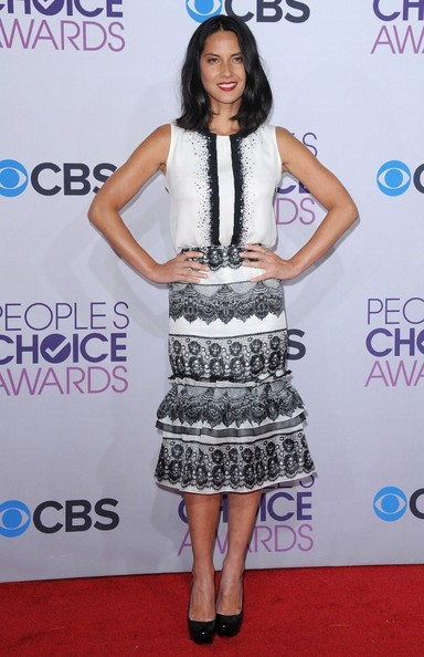 People's Choice Awards 2013..Nokia Theatre L.A. Live, Los Angeles, CA..January 9, 2013..Job: 130109A1..(Photo by Axelle Woussen)..Pictured: Olivia Munn.