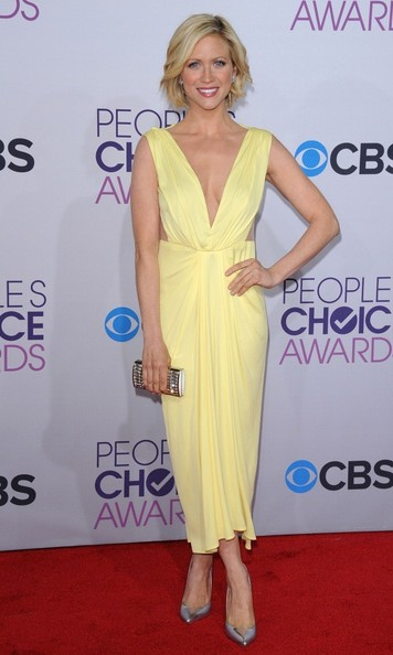 People's Choice Awards 2013..Nokia Theatre L.A. Live, Los Angeles, CA..January 9, 2013..Job: 130109A1..(Photo by Axelle Woussen)..Pictured: Brittany Snow.