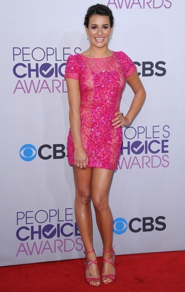 People's Choice Awards 2013..Nokia Theatre L.A. Live, Los Angeles, CA..January 9, 2013..Job: 130109A1..(Photo by Axelle Woussen)..Pictured: Lea Michele.