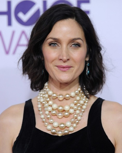 People's Choice Awards 2013..Nokia Theatre L.A. Live, Los Angeles, CA..January 9, 2013..Job: 130109A1..(Photo by Axelle Woussen)..Pictured: Carrie Anne Moss..