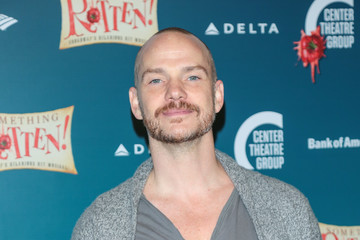 Peter Paige Opening Night Of 'Something Rotten!'