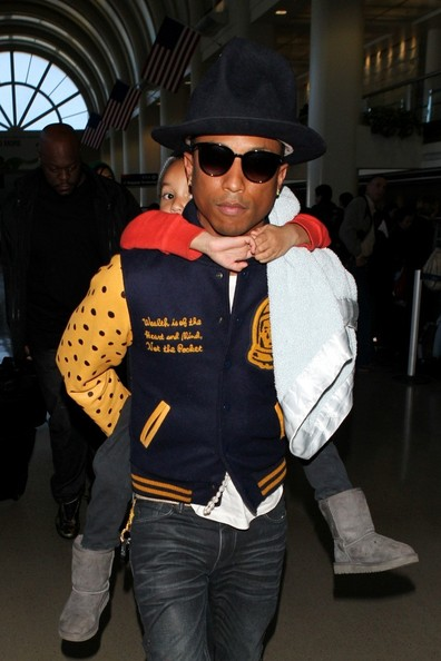 Pharrell Williams Photos Photos - Pharrell Williams and ...