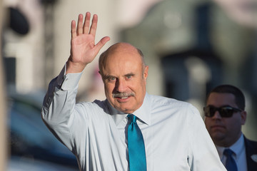 Phil McGraw Dr. Phil Visits 'Jimmy Kimmel Live'
