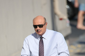 Phil McGraw Celebrity Sightings at 'Jimmy Kimmel Live'
