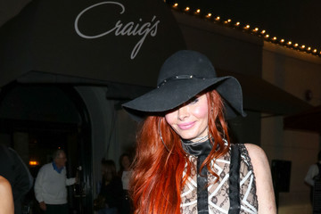 Phoebe Price Phoebe Price Outside Craig's Restaurant In West Hollywood