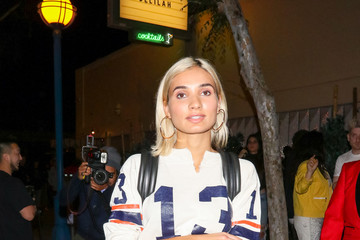 Pia Mia Pia Mia Is Seen Outside Delilah Nightclub In West Hollywood