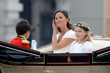 Pippa Middleton Royal Wedding: The carriage ride