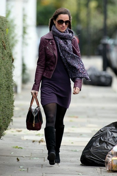 Pippa Middleton's dress and hosiery
