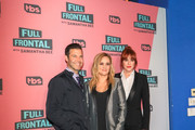 Molly Ringwald, Samantha Bee and Brett Weitz are seen attending 'Full Frontal with Samantha Bee' FYC Event at The WGA Theater in Los Angeles, California.