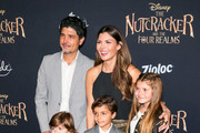 Ali Landry and Alejandro Gomez are seen attending premiere of Disney's 'Nutcracker and the Four Realms' at the Ray Dolby Ballroom in Los Angeles, California.