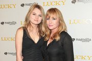 Rebecca De Mornay and Lorraine Nicholson are seen arriving for the premiere of Magnolia Pictures' 'Lucky' held at Linwood Dunn Theater in Los Angeles, California.