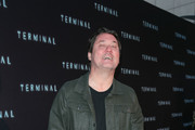 Doug Benson is seen attending the premiere of RLJE Films' 'Terminal' at ArcLight Cinemas in Los Angeles, California.