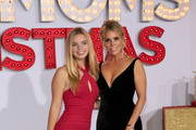 Catherine Rose Young and Cheryl Hines are seen arriving at the Premiere Of STX Entertainment's 'A Bad Moms Christmas' at Regency Village Theatre in Los Angeles, California.