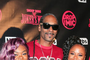 Cori Broadus, Snoop Dogg and Shante Broadus are seen attending the premiere for TBS's 'Drop The Mic' and 'The Joker's Wild' at The Highlight Room in Los Angeles, California.