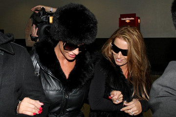 Katie Price Katie Price at LAX