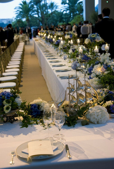 The Religious Wedding Ceremony And Reception Dinner Of Prince