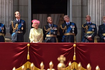 Prince Andrew 75th Anniversary of The Battle of Britain