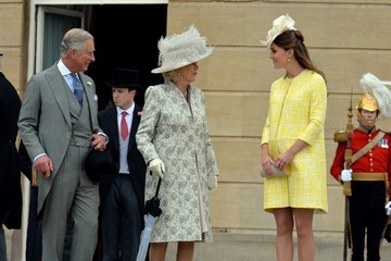 Prince Charles Buckingham Palace Hosts a Garden Party