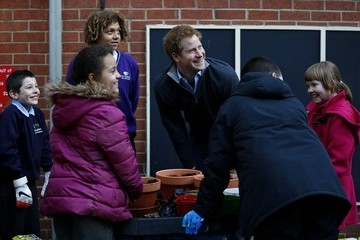 Prince Harry Prince Harry Visits the Full Effect Youth Project