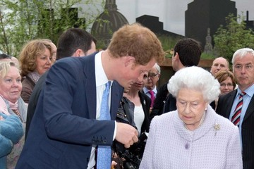 Prince Harry The Chelsea Flower Show Celebrates 100 Years