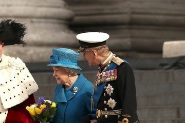 Prince Philip Service to Mark End of Combat Operations