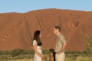Prince William The Royal Couple Visits Ayers Rock