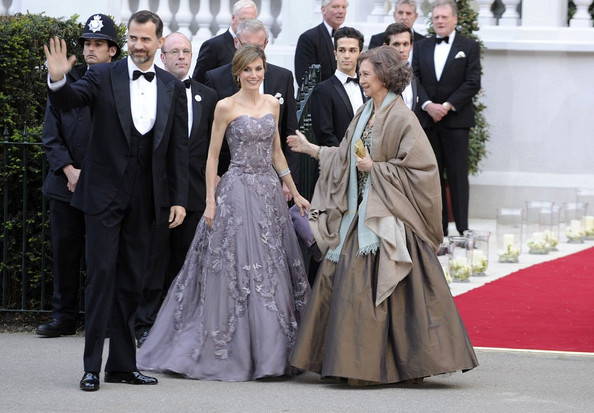 princess letizia wedding. Princess Letizia The Queen