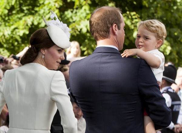 Royals Celebrate the Christening of Princess Charlotte