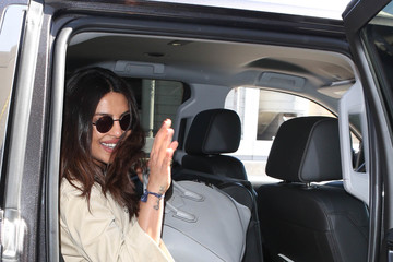 Priyanka Chopra Priyanka Chopra Arrives at LAX