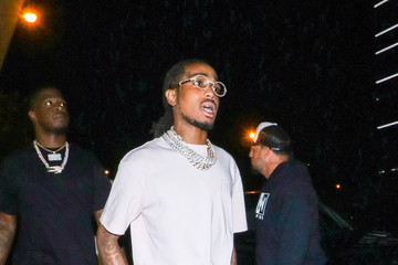 Quavo Quavo Outside Bootsy Bellows Nightclub In West Hollywood