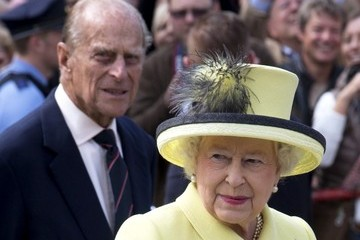 Queen Elizabeth II The Queen Smiles During Her State Visit to Germany