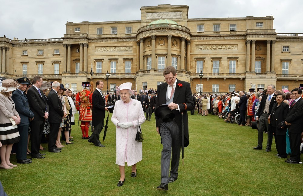 Queen Elizabeth II - Buckingham Palace Hosts a Garden Party