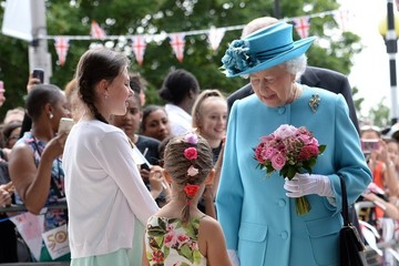 Queen Elizabeth II Royal Visit To London Borough of Barking and Dagenham