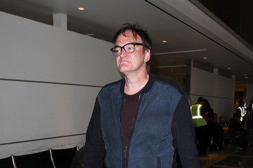 Quentin Tarantino Quentin Tarantino Is Seen at LAX