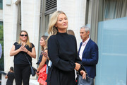 Kate Moss is seen in New York City.