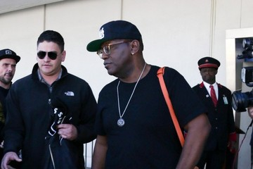 Randy Jackson Randy Jackson Arrives at LAX