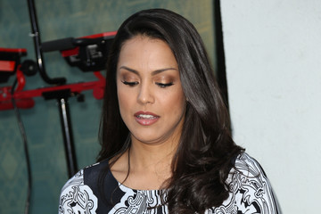 Raquel Pomplun Celebrity Sightings at Laemmle's Music Hall