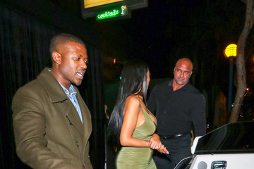 Ray J Princess Love Princess Love Outside Delilah Nightclub In West Hollywood