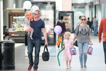 Rebecca Gayheart Rebecca Gayheart and Eric Dane Birthday Out with Their Kids