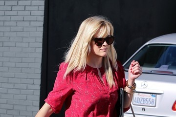 Reese Witherspoon Reese Witherspoon Leaves Lunch 3