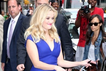 Reese Witherspoon Reese Witherspoon at 'David Letterman'