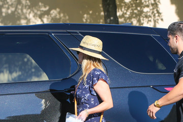 Reese Witherspoon Reese Witherspoon Is Seen During Her Kid's Football Game