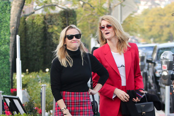 Reese Witherspoon Reese Witherspoon And Laura Dern In Los Angeles