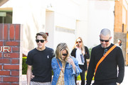 Reese Witherspoon, her son Deacon Phillippe and Jim Toth are seen in Los Angeles, California.
