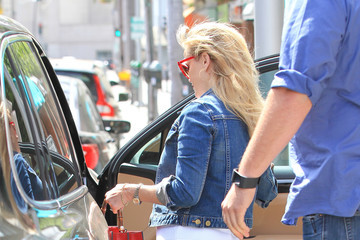 Reese Witherspoon Reese Witherspoon Is Seen Out in Beverly Hills